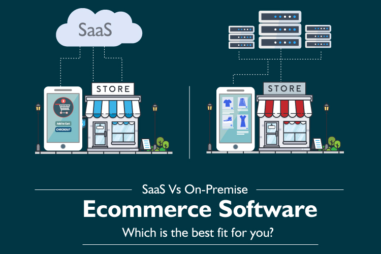 SaaS Vs. On-Premise Ecommerce: Which is the best fit for you?